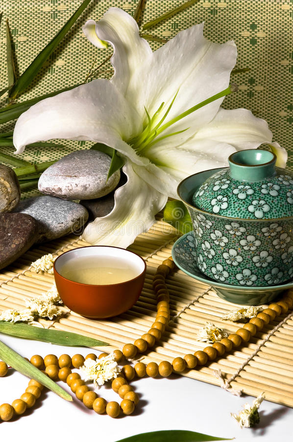 Download Oriental Traditional Tea Ceremony Still Life. Stock Image - Image: 12113507