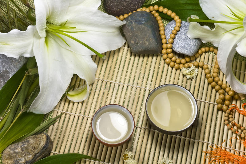 Download Oriental Traditional Tea Ceremony Still Life. Royalty Free Stock Images - Image: 12113559