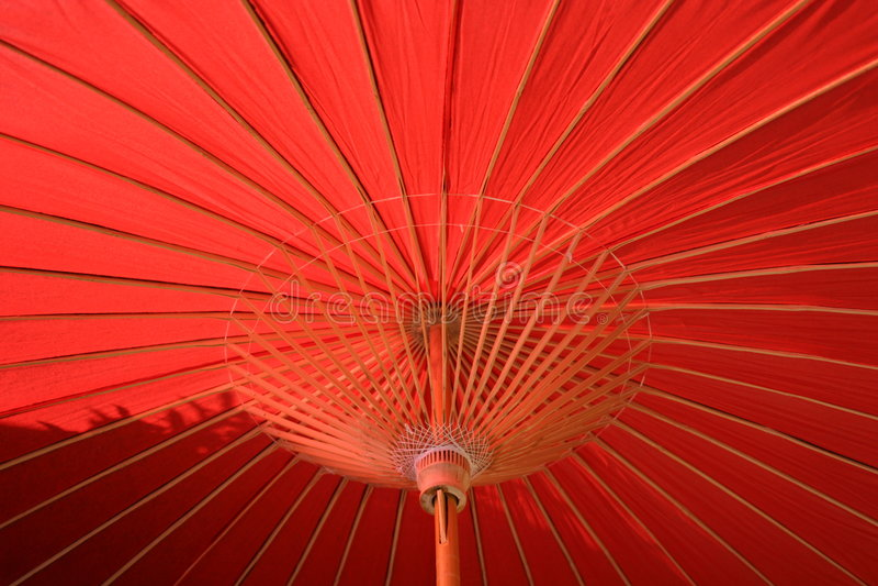 Oriental Umbrella royalty free stock photos