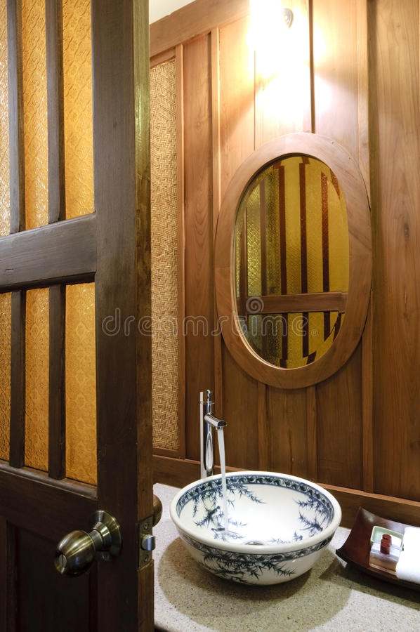 Download Oriental wash basin stock image. Image of resort, fresh - 10461713