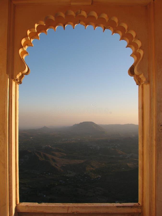 Oriental Window Royalty Free Stock Photos