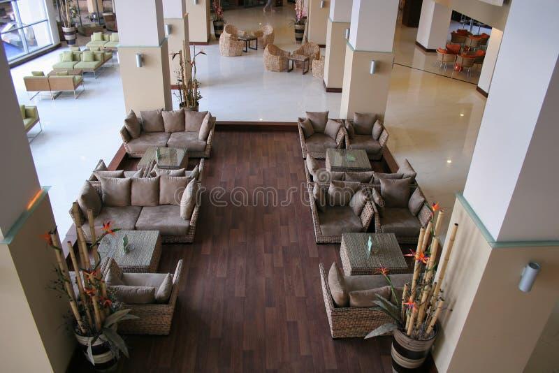 Orientalische Hotel-Vorhalle stockfotos