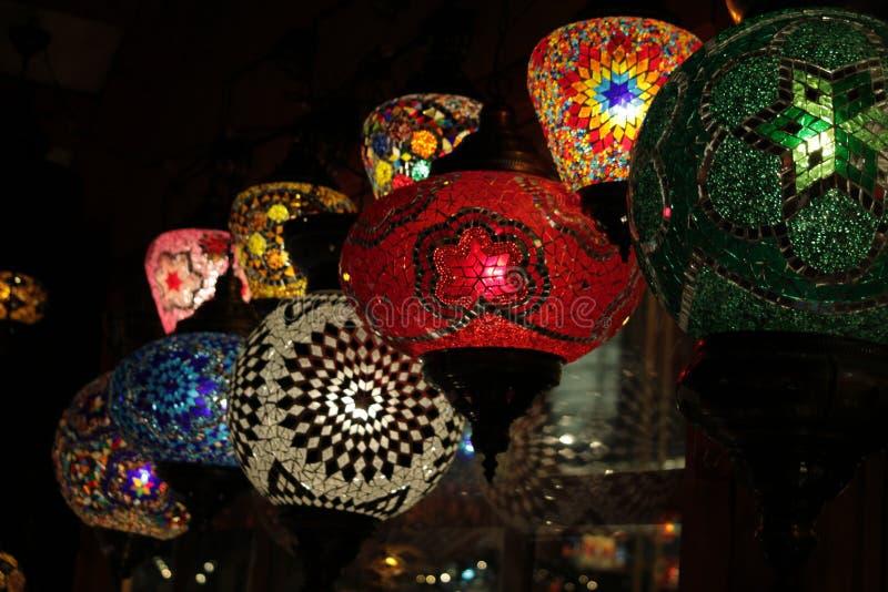 Orientalische Lampen lizenzfreie stockfotos