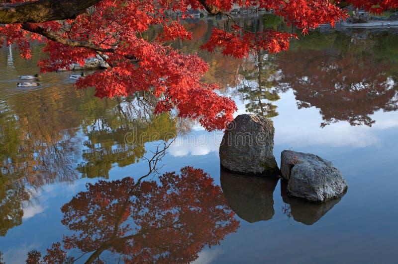 Orientalische Landschaft stockfoto