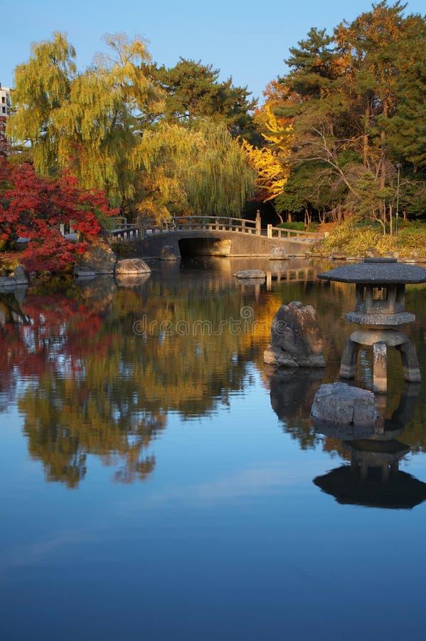 Orientalische Landschaft stockbild