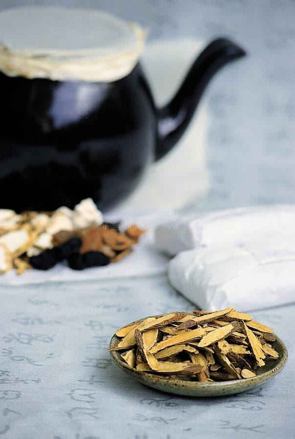 Orientalische Medizin stockbild
