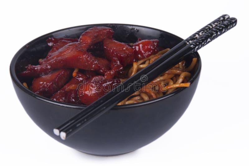 Orientalische Nudeln stockfoto