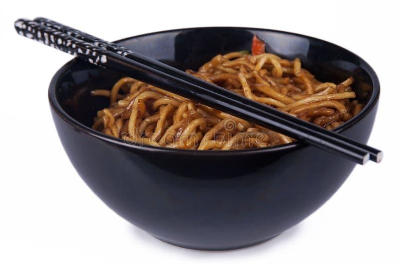 Orientalische Nudeln stockfotografie