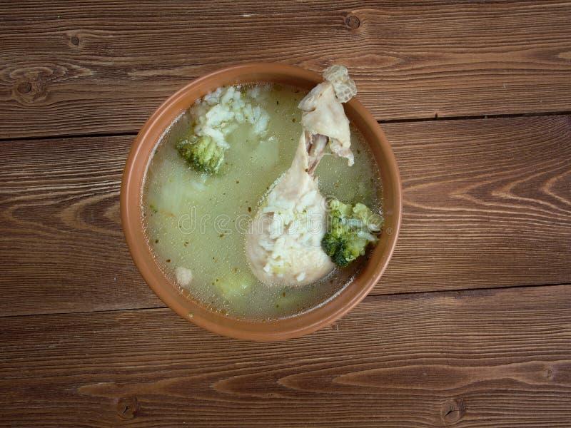 Orientalische Suppe mit lizenzfreies stockfoto