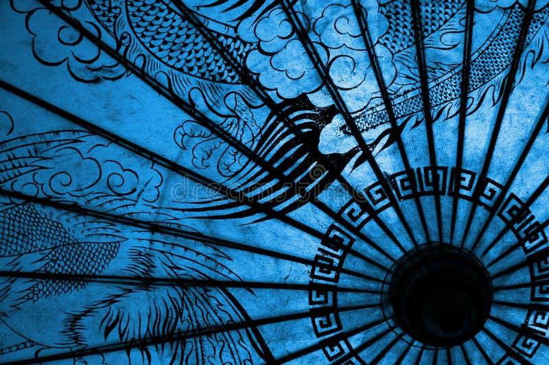 Orientalischer Regenschirm Stockfotos
