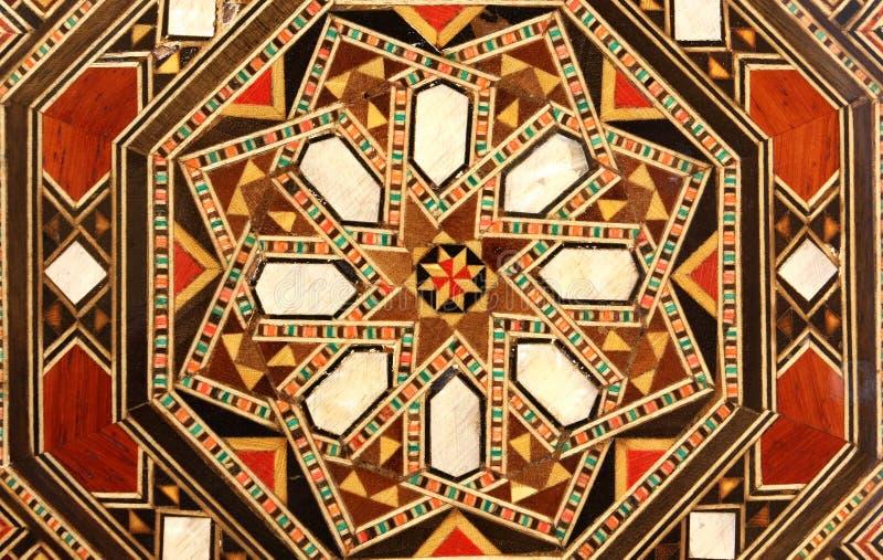 Orientalisches abstraktes Muster lizenzfreie stockfotografie