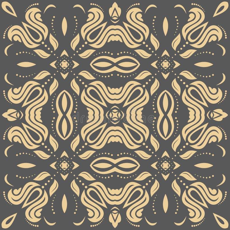 orientalisches abstraktes vektor muster vektor abbildung illustration von graphik arabeske. Black Bedroom Furniture Sets. Home Design Ideas
