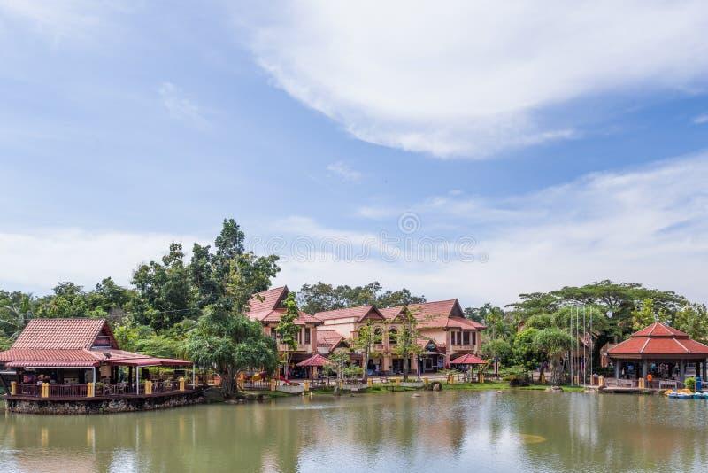 Orientalisches Dorf, Langkawi, Malaysia lizenzfreie stockfotografie