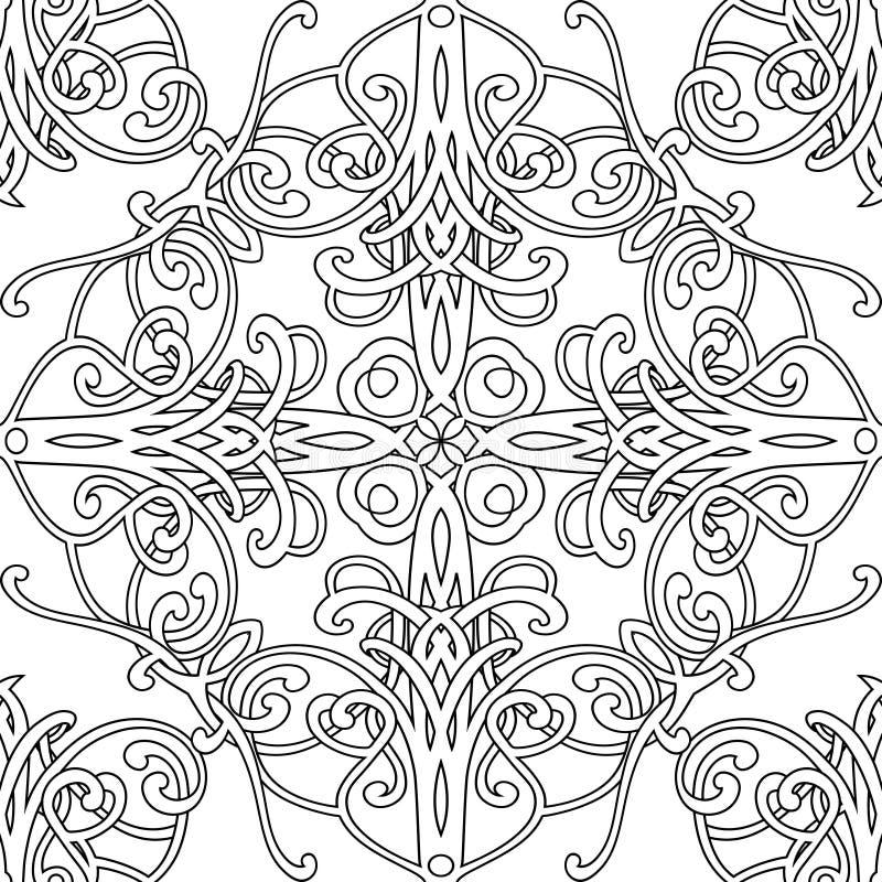 orientalisches muster stock abbildung illustration von geschenk 23758942. Black Bedroom Furniture Sets. Home Design Ideas