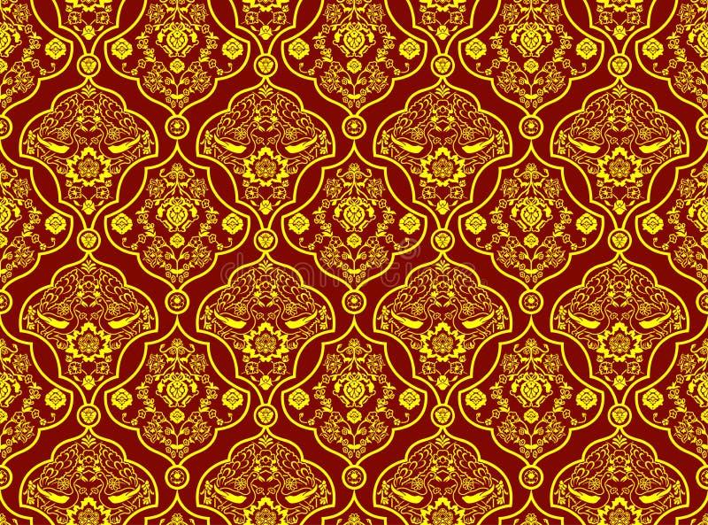 Orientalisches Muster stock abbildung