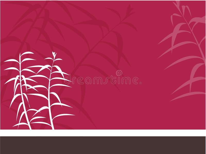 orientalisk bakgrund stock illustrationer