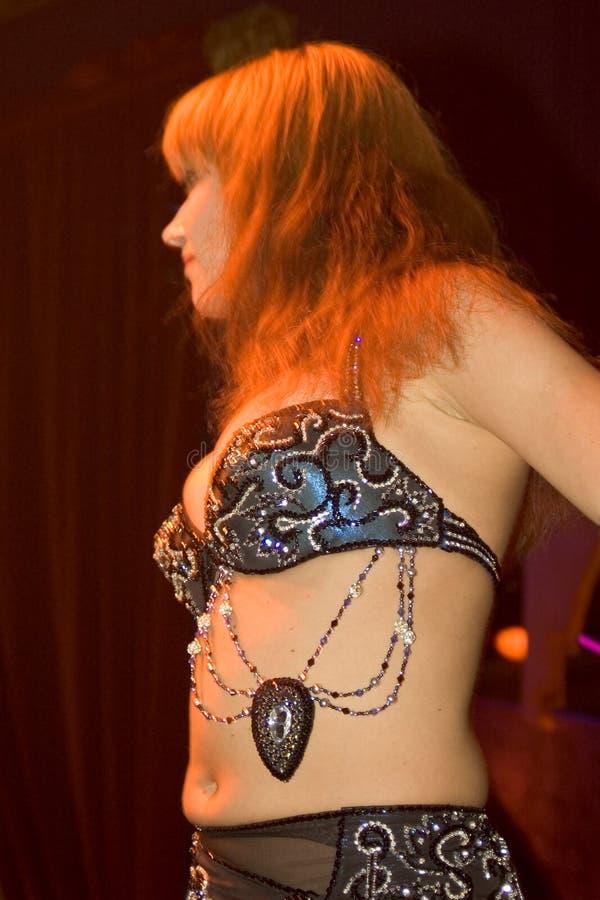 orientalisk dansare royaltyfri fotografi