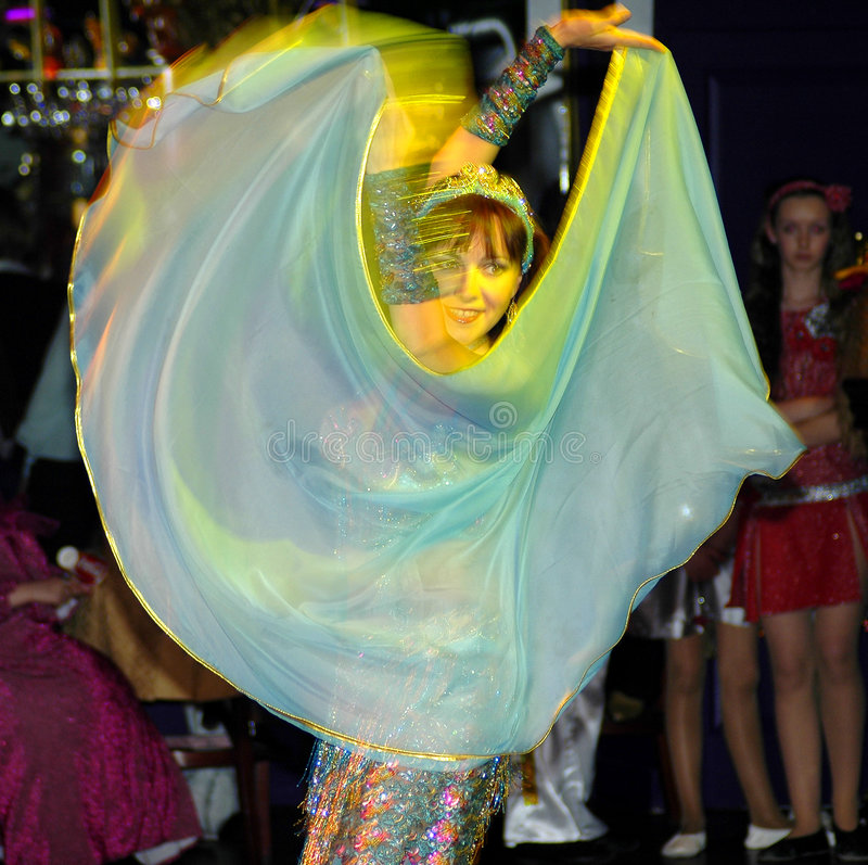 orientalisk dansare royaltyfri foto