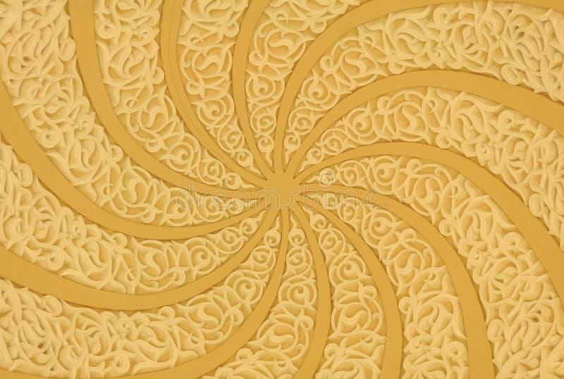 orientalisk garnering royaltyfri foto