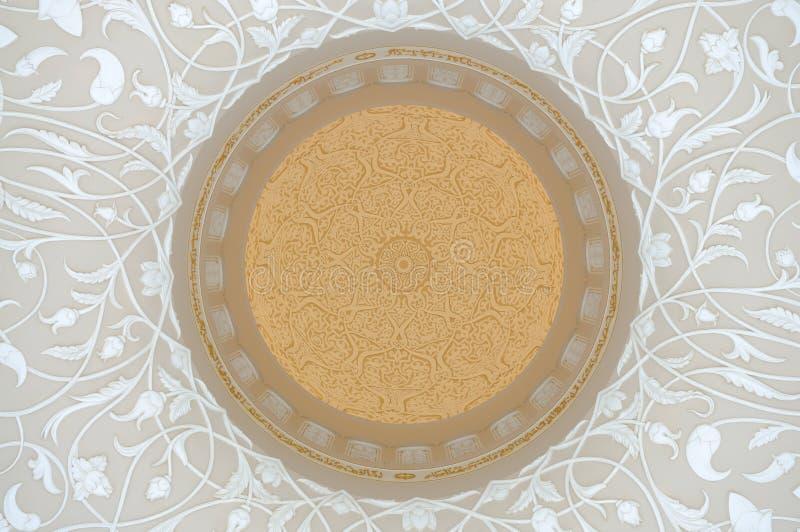orientalisk garnering arkivbild