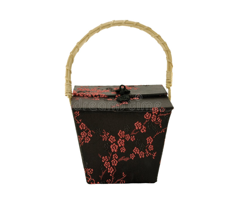 orientalisk låda arkivbild