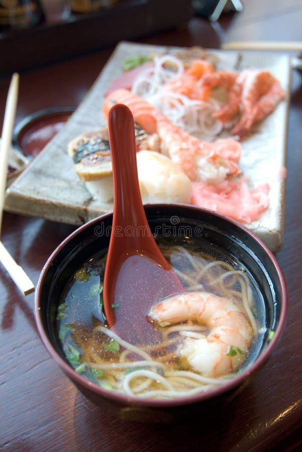 orientalisk mat royaltyfria bilder