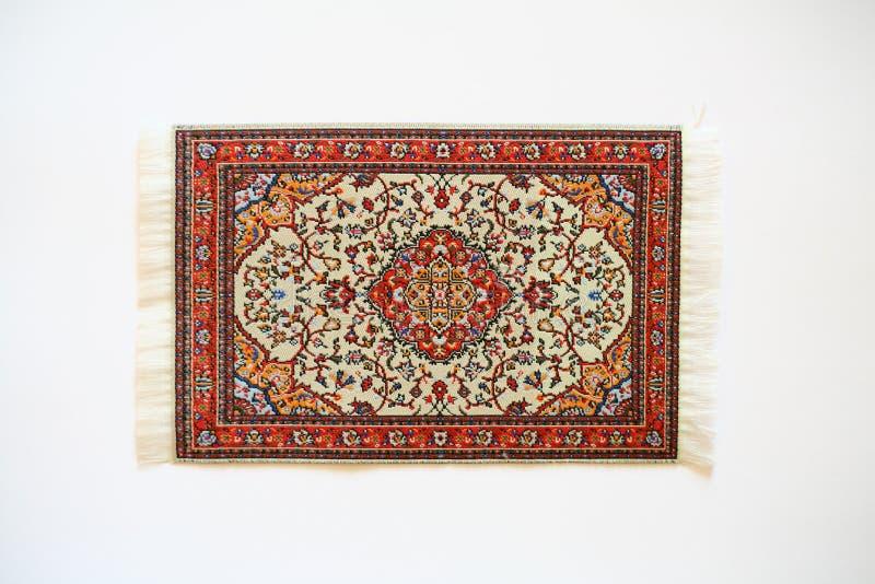 orientalisk matta royaltyfria bilder