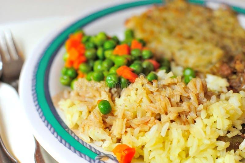 orientalisk ricegrönsak fotografering för bildbyråer