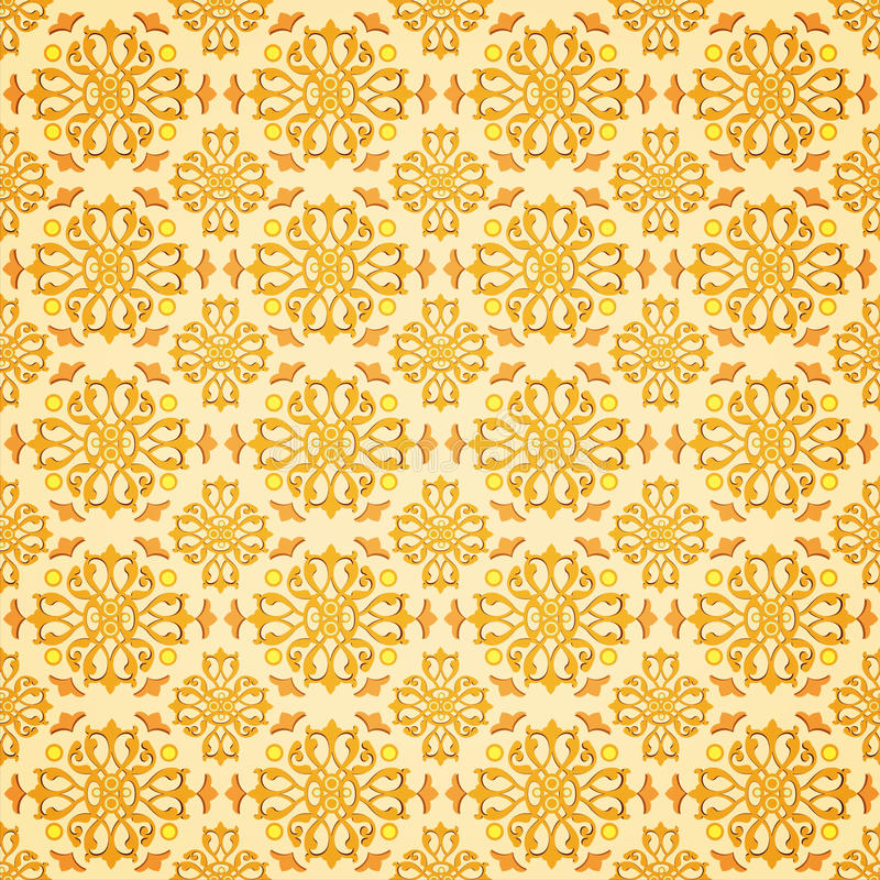 orientalisk seamless stil