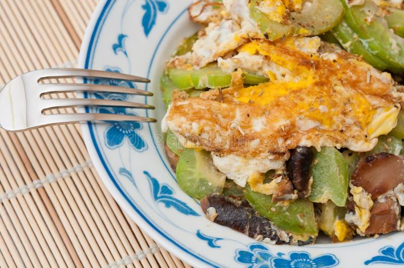 orientalisk stil för omelett fotografering för bildbyråer