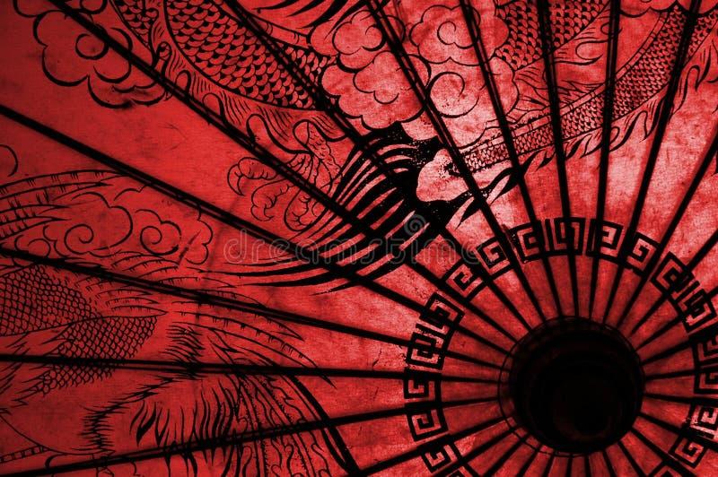 orientaliskt paraply royaltyfri bild