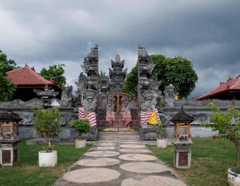 orientaliskt tempel för balinese royaltyfri fotografi