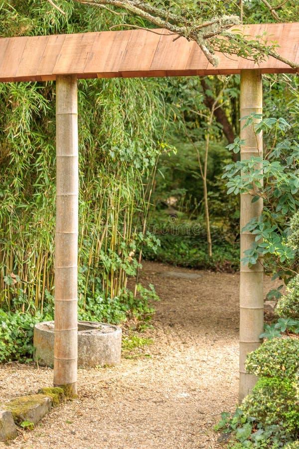 Orientalna brama obrazy royalty free