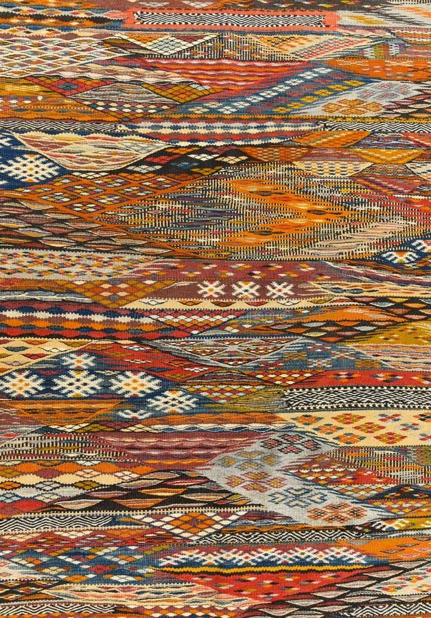 Orientalna dywanowa tło tekstura zdjęcie royalty free