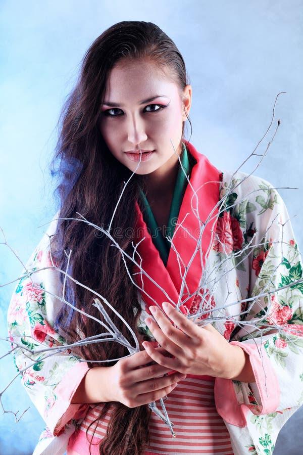 orientalna kobieta zdjęcie stock