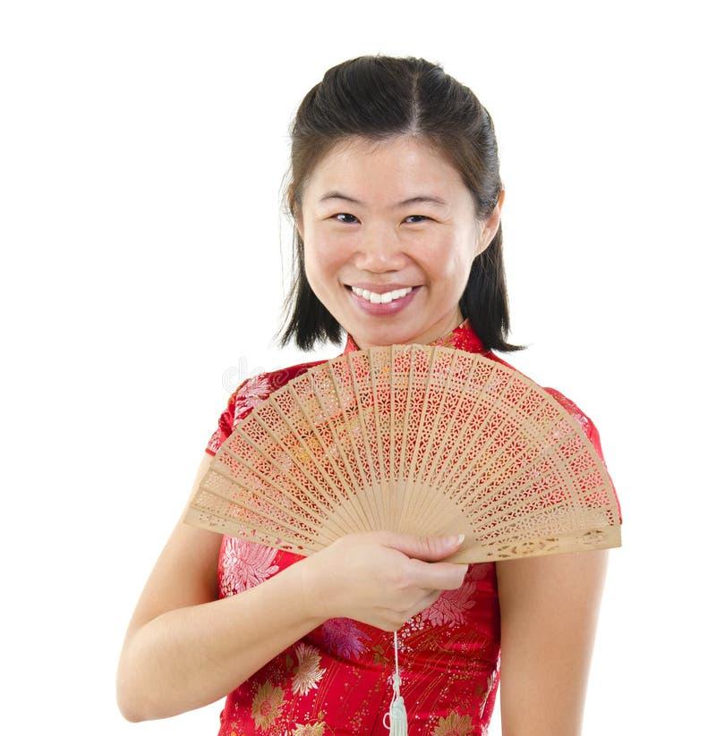 Orientalna kobieta obraz royalty free