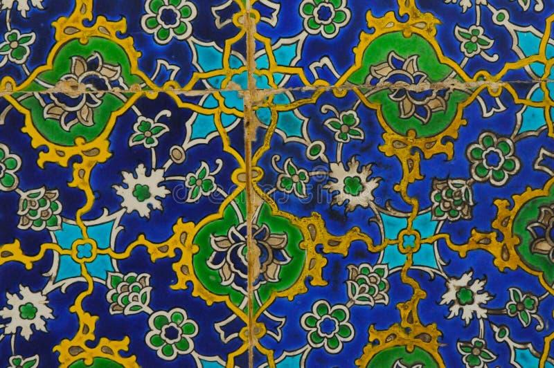 orientalne płytki obrazy stock