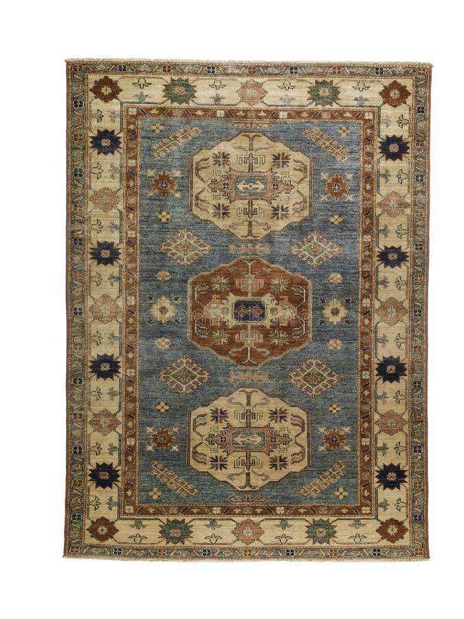 Orientalny dywanik nad wierzchołkiem obrazy stock