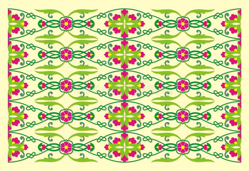 Orientalny ornament obrazy royalty free