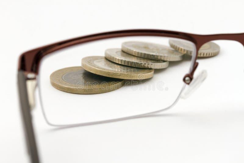 Orientation sur l'argent image libre de droits