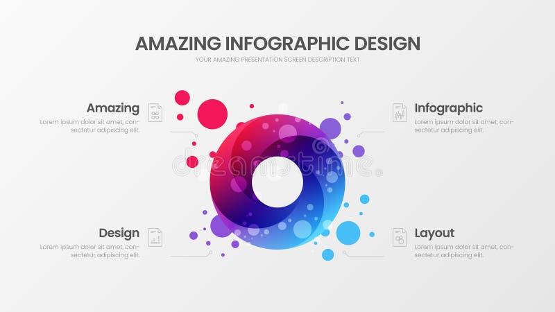 Orientering för affärsdatadesign  royaltyfri illustrationer