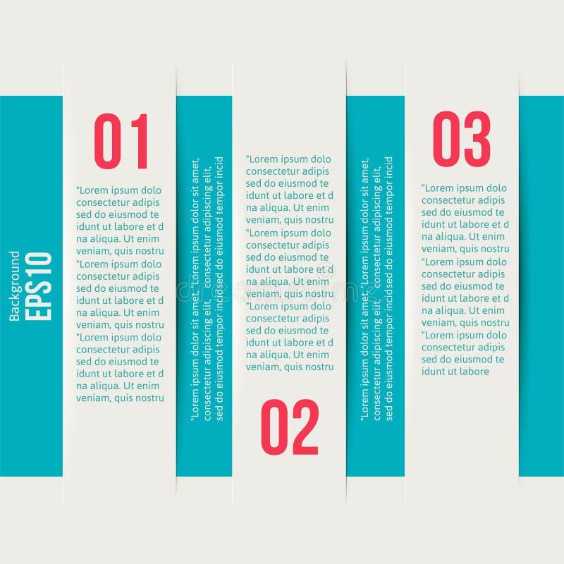 Orientering för mall för stil för modern design infographic stock illustrationer