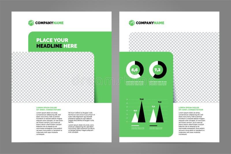 Orienteringsmalldesign stock illustrationer