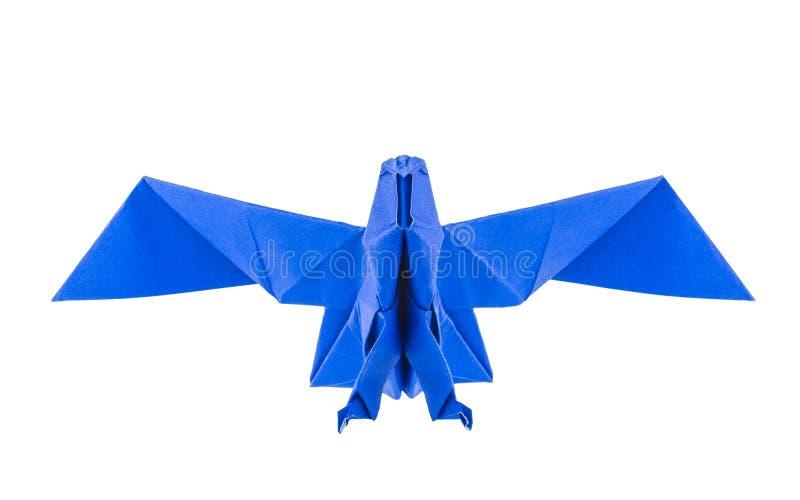 Origamiörn royaltyfria bilder
