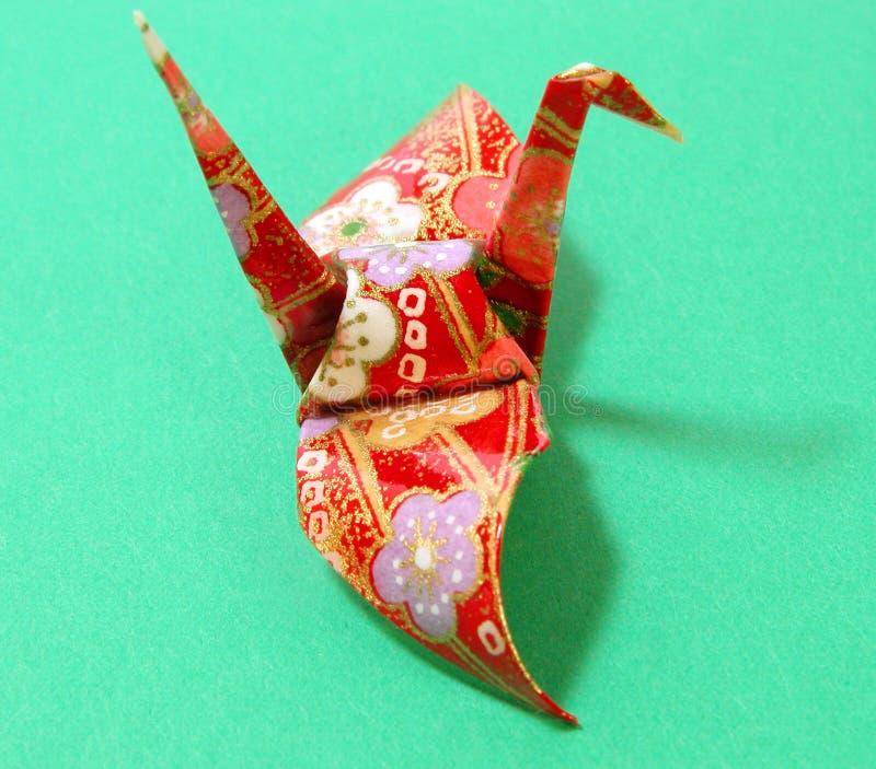 origami影子 免版税库存照片