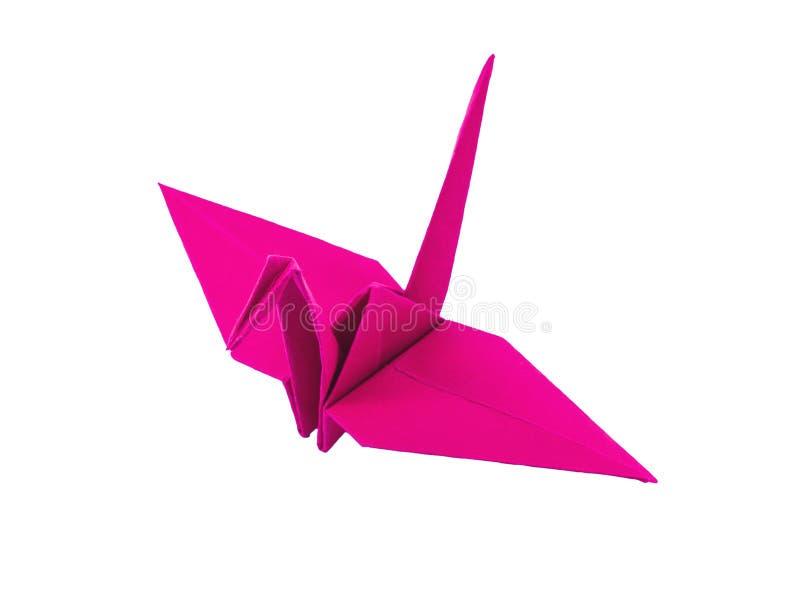 Download Origami桃红色纸鸟 库存照片. 图片 包括有 本质, 敌意, 业余爱好, 希望, 日语, 手工制造 - 30331246