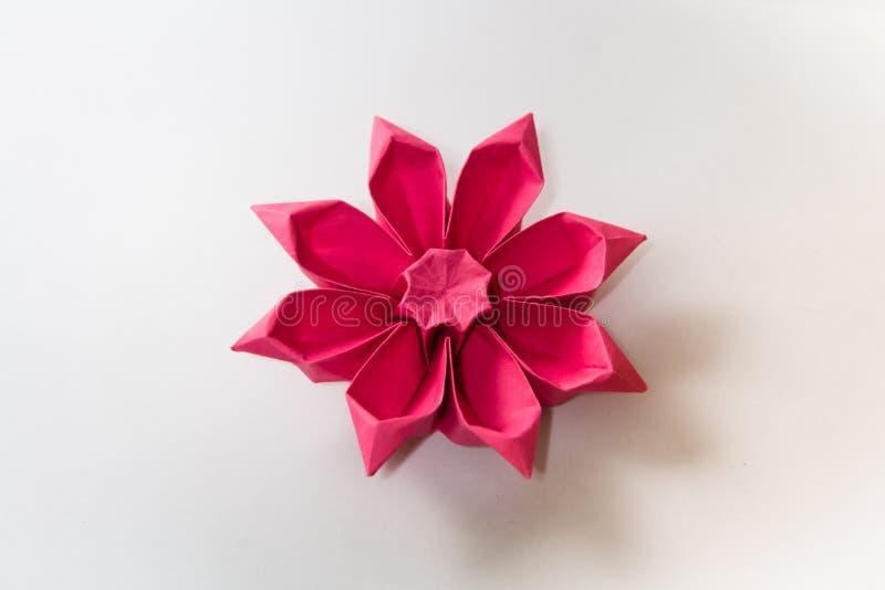 Origami花 免版税库存照片