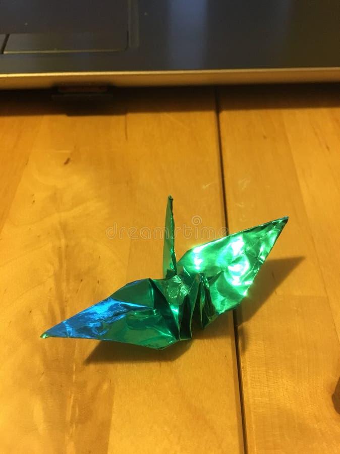 Origami起重机2 免版税库存图片