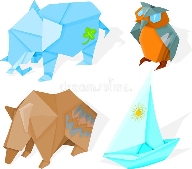 origami 02 ελεύθερη απεικόνιση δικαιώματος