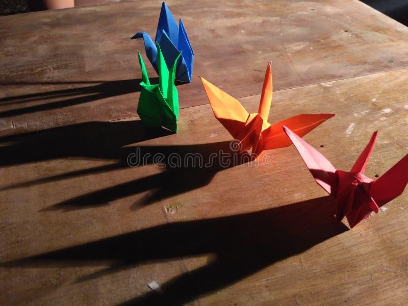 Origami stock afbeeldingen